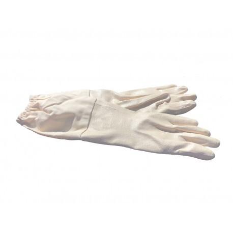 guante de nitrilo blanco