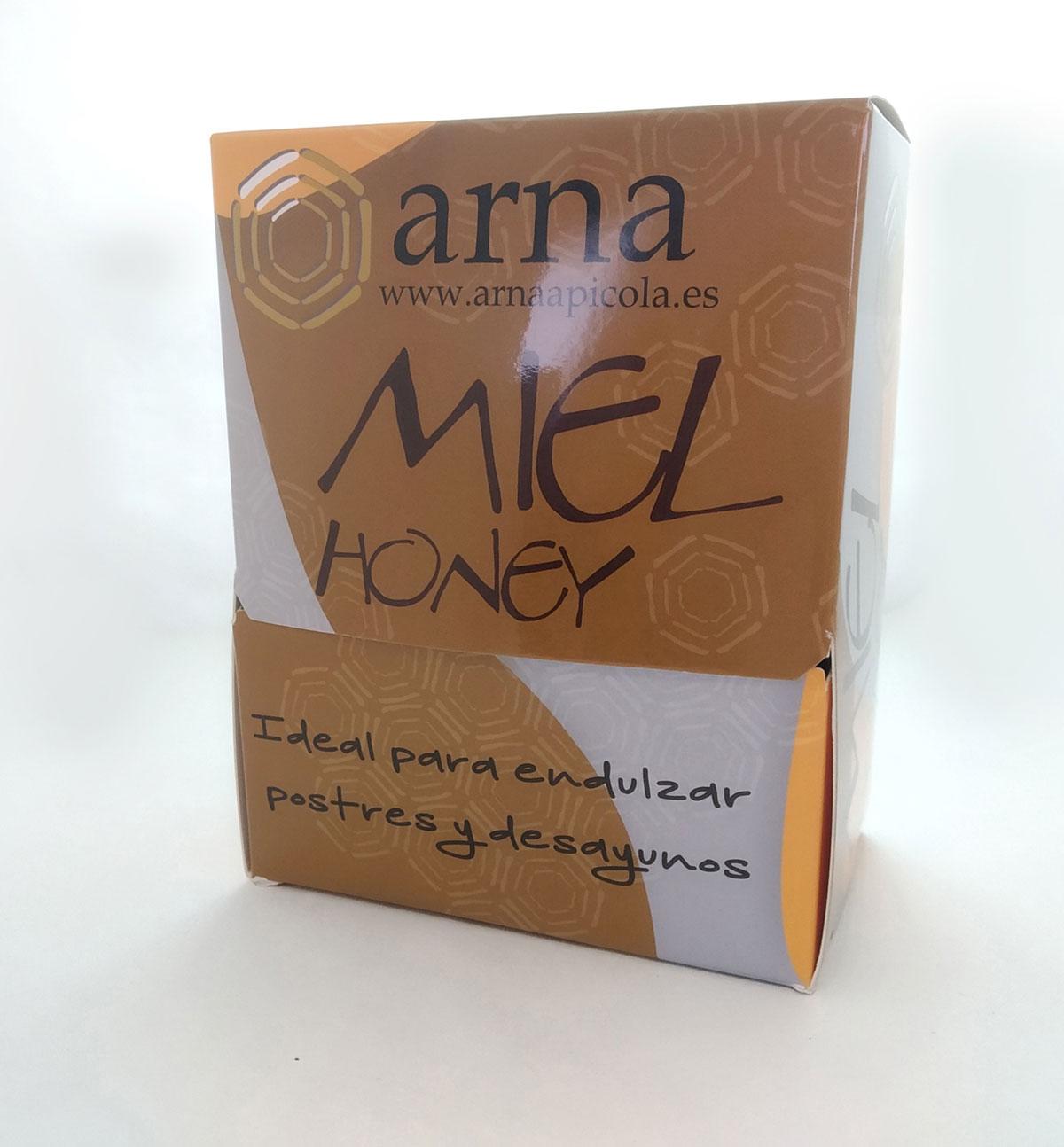 cajas monodosis miel